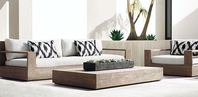 Marbella Teak Collection- Weathered Grey Teak (Outdoor Furniture CG) | RH Modern