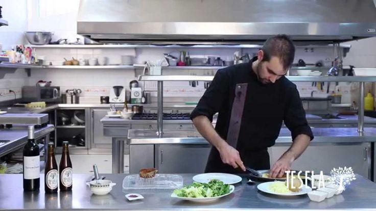 ¿Quién cocina esta vez con Tesela? El chef Goyo Plasencia, del Restaurante Torremilanos ¡Dentro vídeo! Ah, y apuntad la receta #gastrobeer #ExperimentaTesela