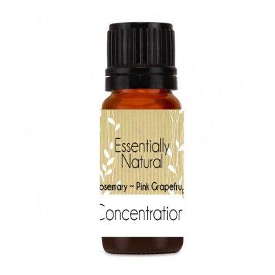 Concentration Pure Essential Oil Blend
