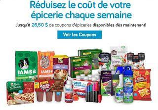 Coupons et Circulaires: Jusqu'à 26,50$ de coupons d'épicerie disponibles