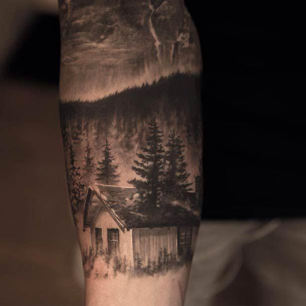 by Swedish tattoo artist Niki Norberg #ink #tattoo