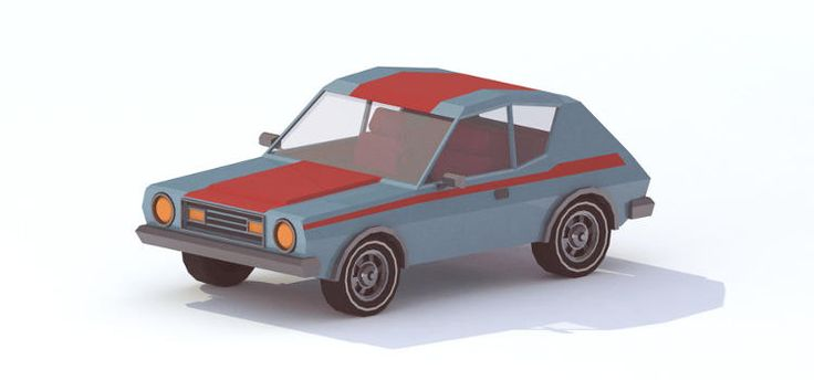 3   12 Awesomely Isometric Illustrations Of Classic '70s Cars   Co.Design   business + design