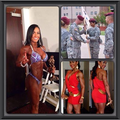 Support Military Muscle shares.......   CAPT CHARMAIN LETT  US ARMY   @Airbornelett