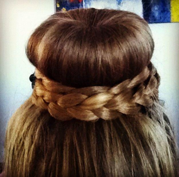 Excellent 2 For 1 Donut Bun Hair Tutorial Crafthubs Short Hairstyles For Black Women Fulllsitofus