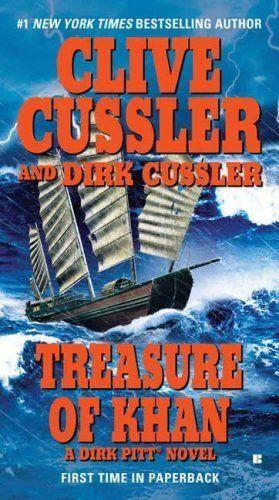 Treasure of Khan by Clive Cussler w/ Dirk Cussler (2006) (Dirk Pitt #19) - read bef 2015