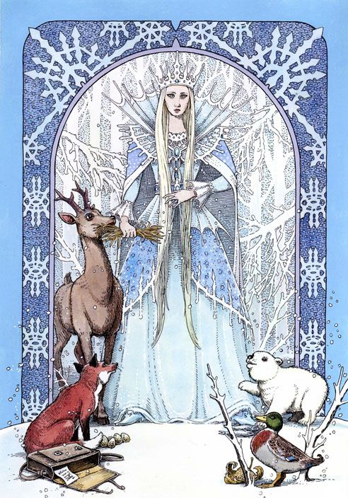Skadi - Winter Goddess of the North Skadi is the Viking Goddess of winter. Her name is said to mean shadow or shade. She is the Queen of the shades. She is a huntress, a dark magician, a giantess Goddess, ruling especially over mountains, wilderness, winter, revenge, knowledge, damage, justice, and independence.