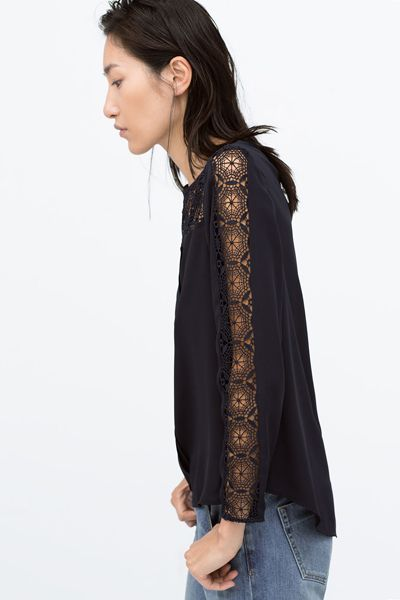 Zara lace too, love it