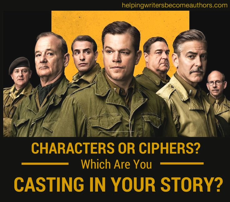 Characters or Ciphers? Which Are You Casting in Your Story?