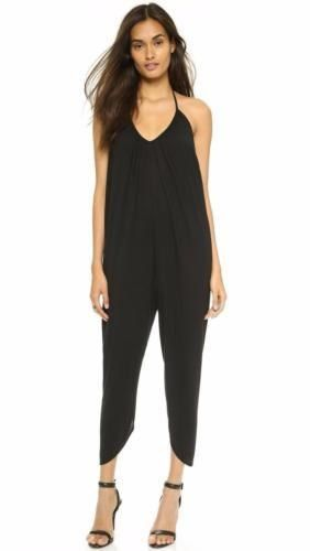 119.95$  Watch now - http://vilwo.justgood.pw/vig/item.php?t=mfc0n0i22164 - NEW HAUTE HIPPIE Draped Halter Jumpsuit (Size L) - MSRP $265.00
