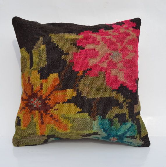 Hey, I found this really awesome Etsy listing at https://www.etsy.com/listing/180173541/shabby-chic-pillow-cover-kilim-cushion