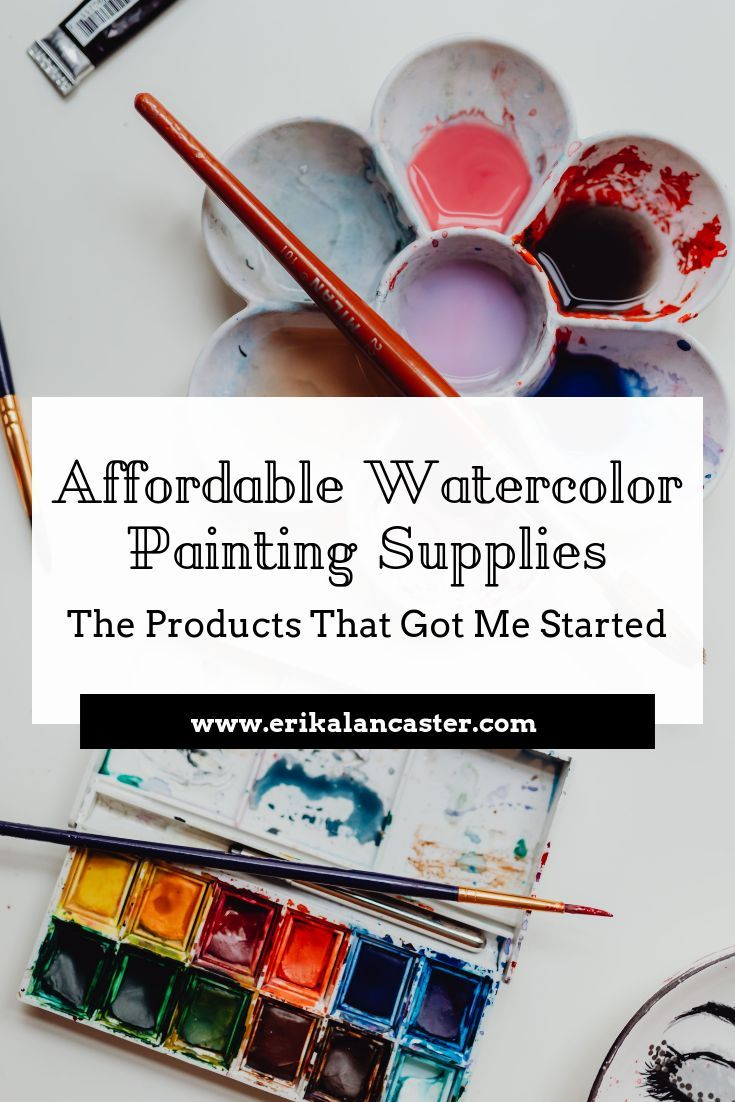 Affordable Watercolor Painting Supplies The Products That Got Me