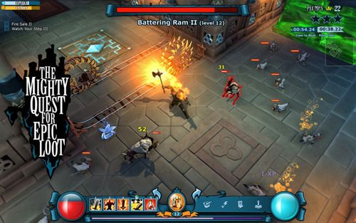 Free  Mmo game from UbiSoft The Mighty Quest for Epic Loot , Free Diablo ?