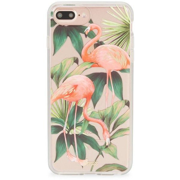 Sonix Flamingo iPhone 6/7 Plus Case (197820 PYG) ❤ liked on Polyvore featuring men's fashion, men's accessories and men's tech accessories