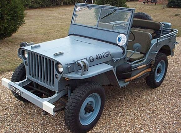 1943 Willys Jeep.