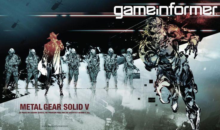 Metal Gear Solid V - Game Informer Cover