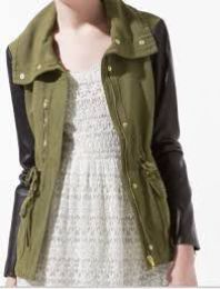 Available @ TrendTrunk.com Zara Women Outerwear. By Zara Women. Only $70.00!