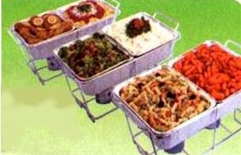 Important Tips on using Chafing (steam tray) dishes (Disposable or Stainless Steel).