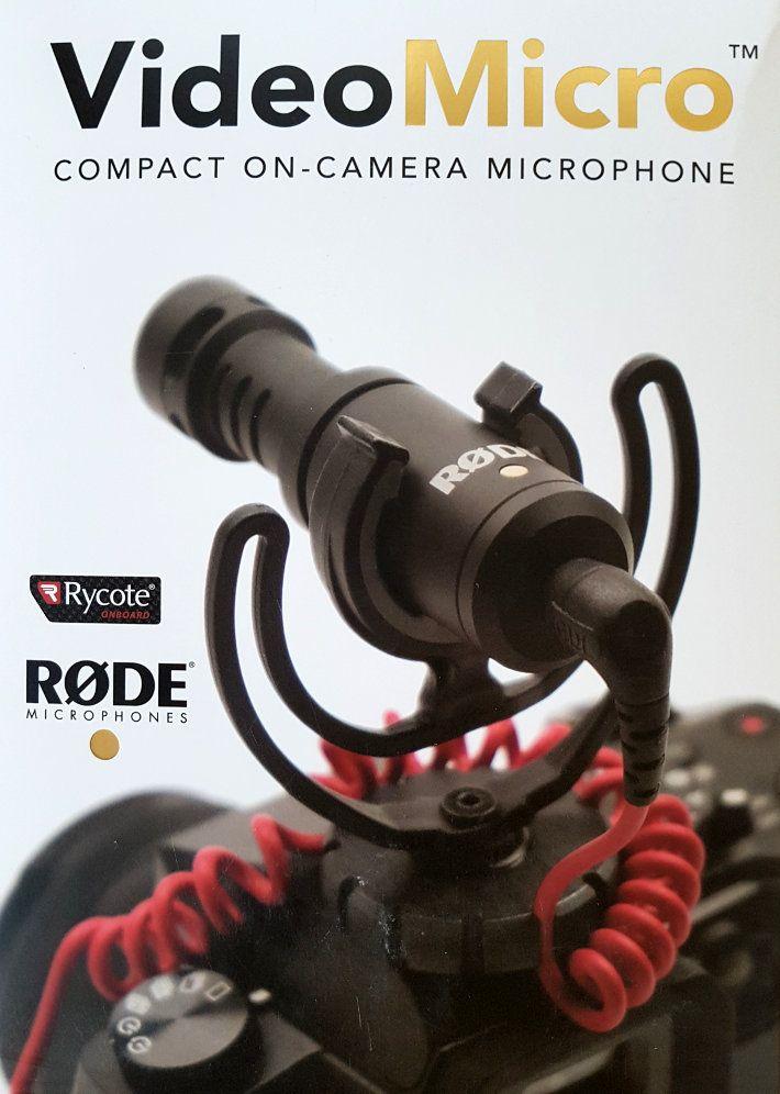 Microfon Rode VideoMicro