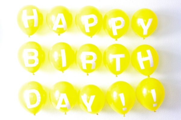 Balloon obsession continues. I wish I had a birthday party to plan next weekend.