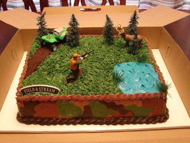 Hunting Theme  on Cake Central