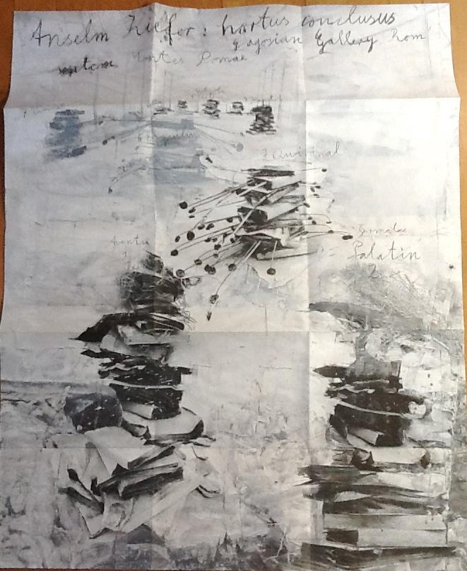 "Anselm Kiefer opening @Gagosian Gallery Gallery Gallery Gallery Rome ""Hortus philosophorum"". ♥ by #GalerieW 2014"