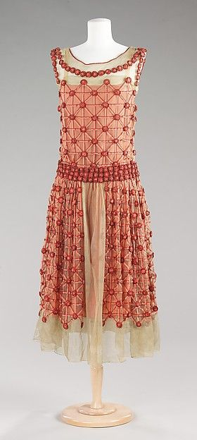 "Jeanne Lanvin (French, 1867–1946). ""Roseraie"", spring/summer 1923. The Metropolitan Museum of Art, New York. Brooklyn Museum Costume Collection at The Metropolitan Museum of Art, Gift of the Brooklyn Museum, 2009; Anonymous gift, 1964 (2009.300.1318a, b)"
