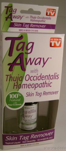 Tag Away Remover Skin As Seen on TV Topical Liquid Homeopathic Natural Sensitive