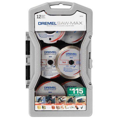 Dremel SM710 12-Piece Saw-Max Blade Set, Multicolor