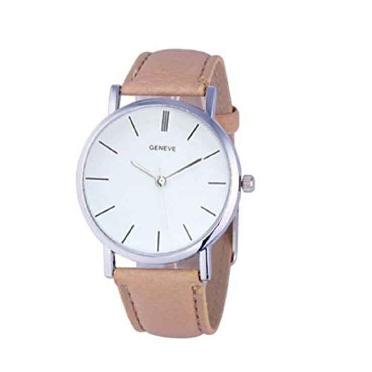 Vovotrade nouvelles femmes Retro Design bande de cuir analogique en alliage montre-bracelet à quartz_Beige 2017 #2017, #Montresbracelet http://montre-luxe-femme.fr/vovotrade-nouvelles-femmes-retro-design-bande-de-cuir-analogique-en-alliage-montre-bracelet-a-quartzbeige-2017/
