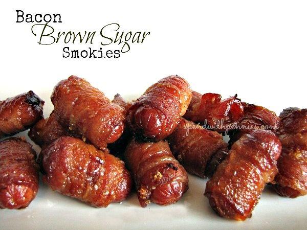 Bacon Brown Sugar Smokies.