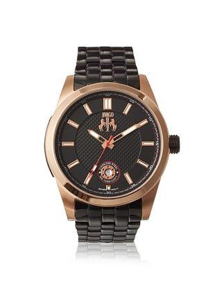 68% OFF Jivago Men's JV7115 Rush Black Stainless Steel Watch