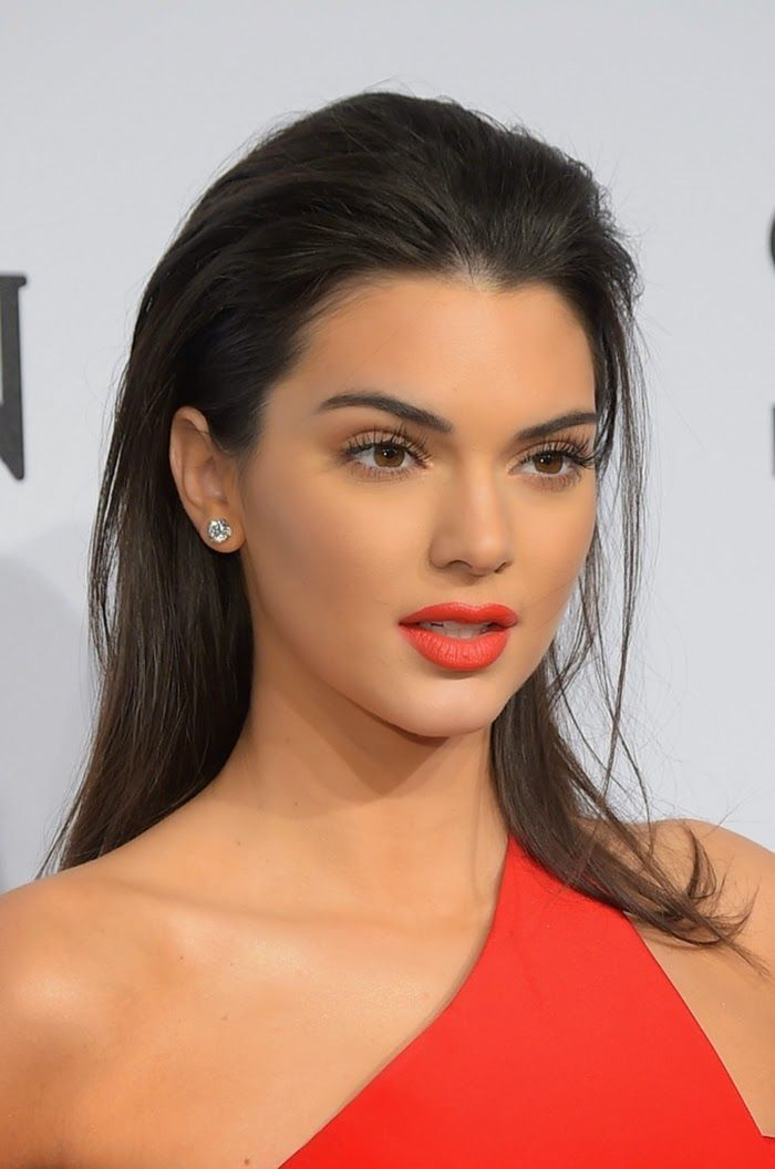 Kendall Jenner at 2015 amfAR New York Gala
