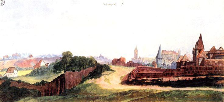 アルブレヒト・デューラーの風景・版画・素描集