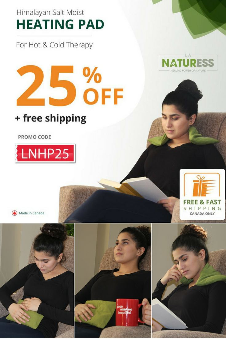 Himalayan Salt Heating Pad For Pain Relief Get 25% OFF | On Himalayan Salt Heating Pad. Use Promo Code: LNHP25  Free Shipping in Canada ONLY  #LaNaturess #heatingpad #heattherapy #himalayansalt #painrelief #shoulderpain #backpain