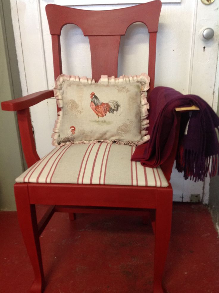 Arm chair done in emperors silk, clear and dark wax #annie Sloan chalk paint. Material is Annie Sloan and pillow is made out of Annie Sloan material with a throw from the avoca mills in Ireland