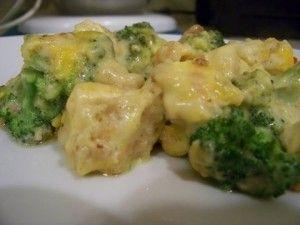 chicken-divan casserole from leftover chicken cutlets