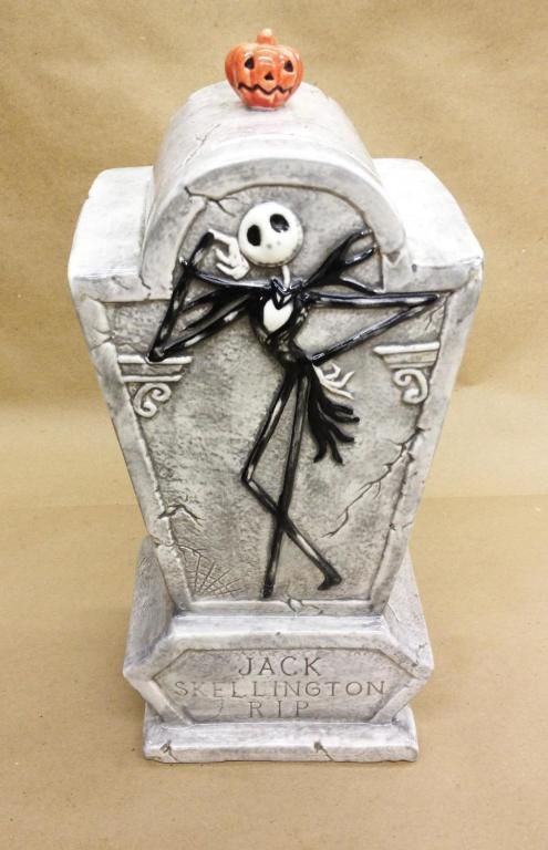 Original Nightmare Before Christmas Jack Skellington Cookie Jar 1st Run RARE | eBay | the Nightmare Before Christmas Collectionary
