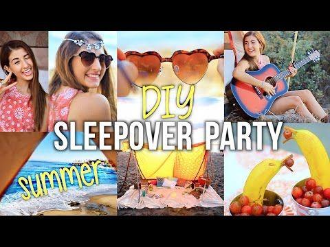 Summer Girls Night Party: DIY Ideas for Decor & Food! - YouTube