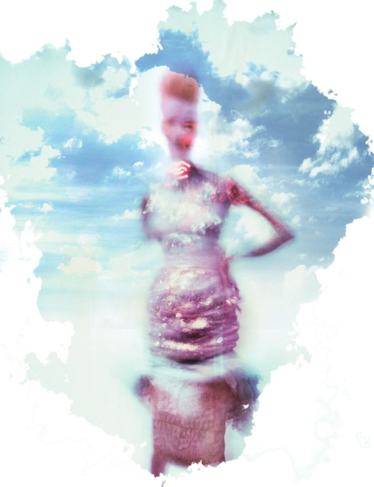 AnOther Magazine A/W 2008 Carmen Kass Photographed by Nick Knight, Styling Panos Yiapanis: Magazine, Nickknight, Carmen Goldsmith, Knights, Nick Knight, Cloud, Fashion Photography, Carmen Kass
