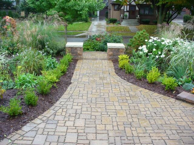 Permeable Pavers For Walkway Garden Ideas Pinterest