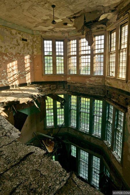 Interior of abandoned building.   ..rh