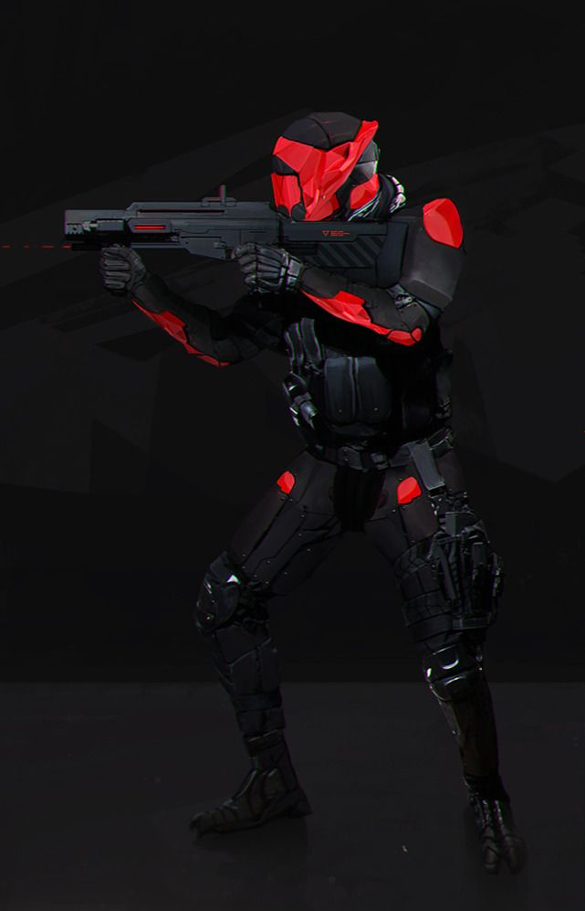 Battle Armor, Future Soldier