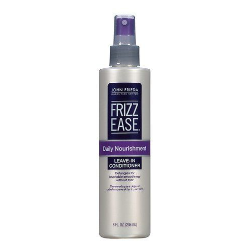 Learn more about John Frieda's Frizz-Ease Leave-In Conditioner on SHEfinds.com!