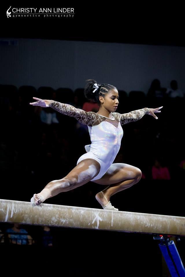 "usagymnastics:  ""Jordan Chiles (Naydenov)  2017 US Classic (x)  """