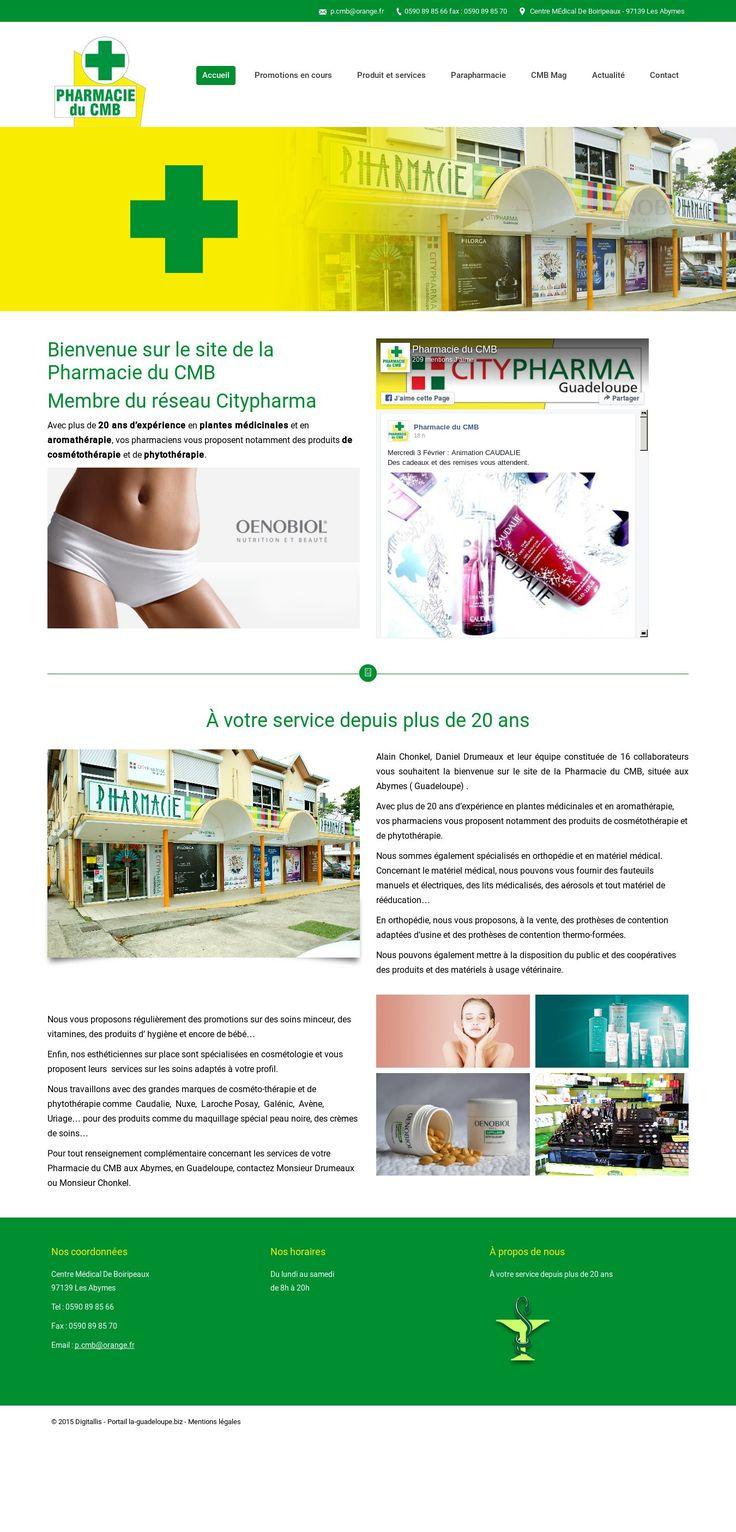 WordPress site pharmacie-guadeloupe.com uses the The7.2 wp theme
