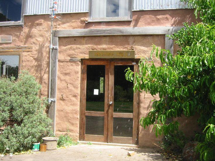 Door to Main Hall