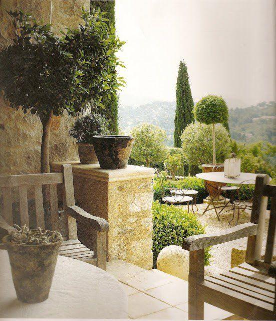 Mediterranean Style Landscaping: 25+ Best Tuscan Garden Ideas On Pinterest