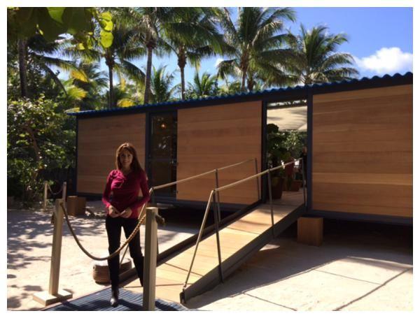 Inside Minds of Modernist Masters at Art Basel Miami: Design Blogger Karen LeBlanc visiting Maison au bord de l'eau