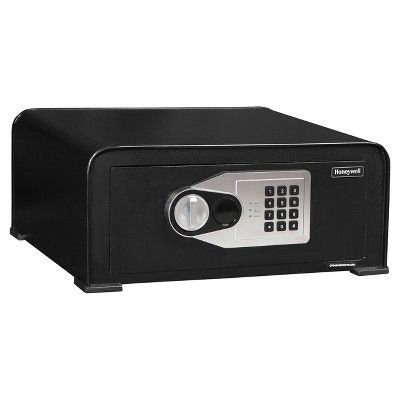 Honeywell 0.74 cu ft/Digital Curved Top Security Safe, Black