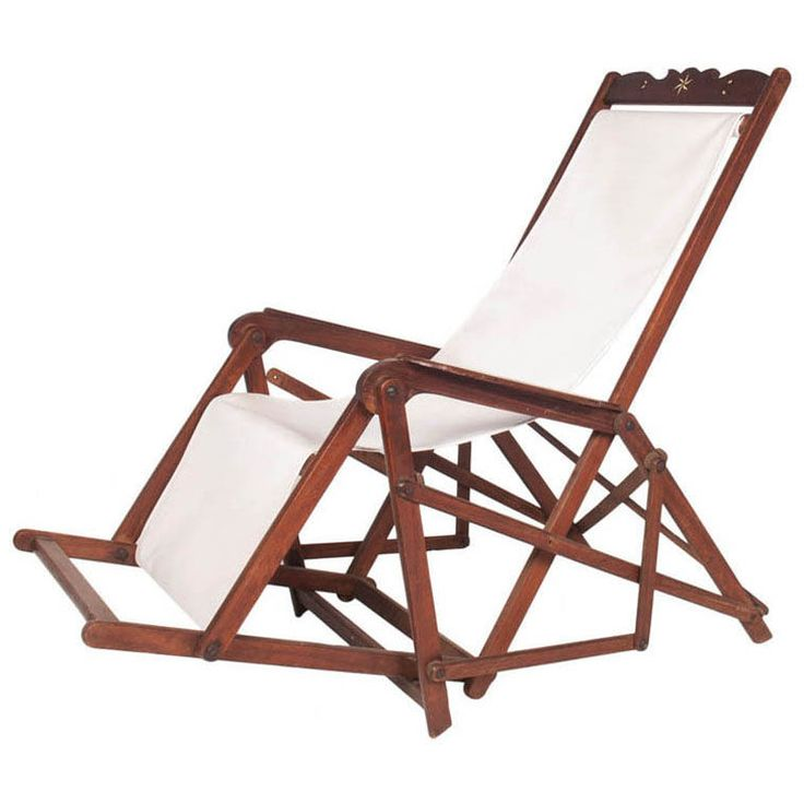 Vintage Deck Chair with Inlay - 128 Best Deck Chair Images On Pinterest Beach Chairs, Deck Chairs